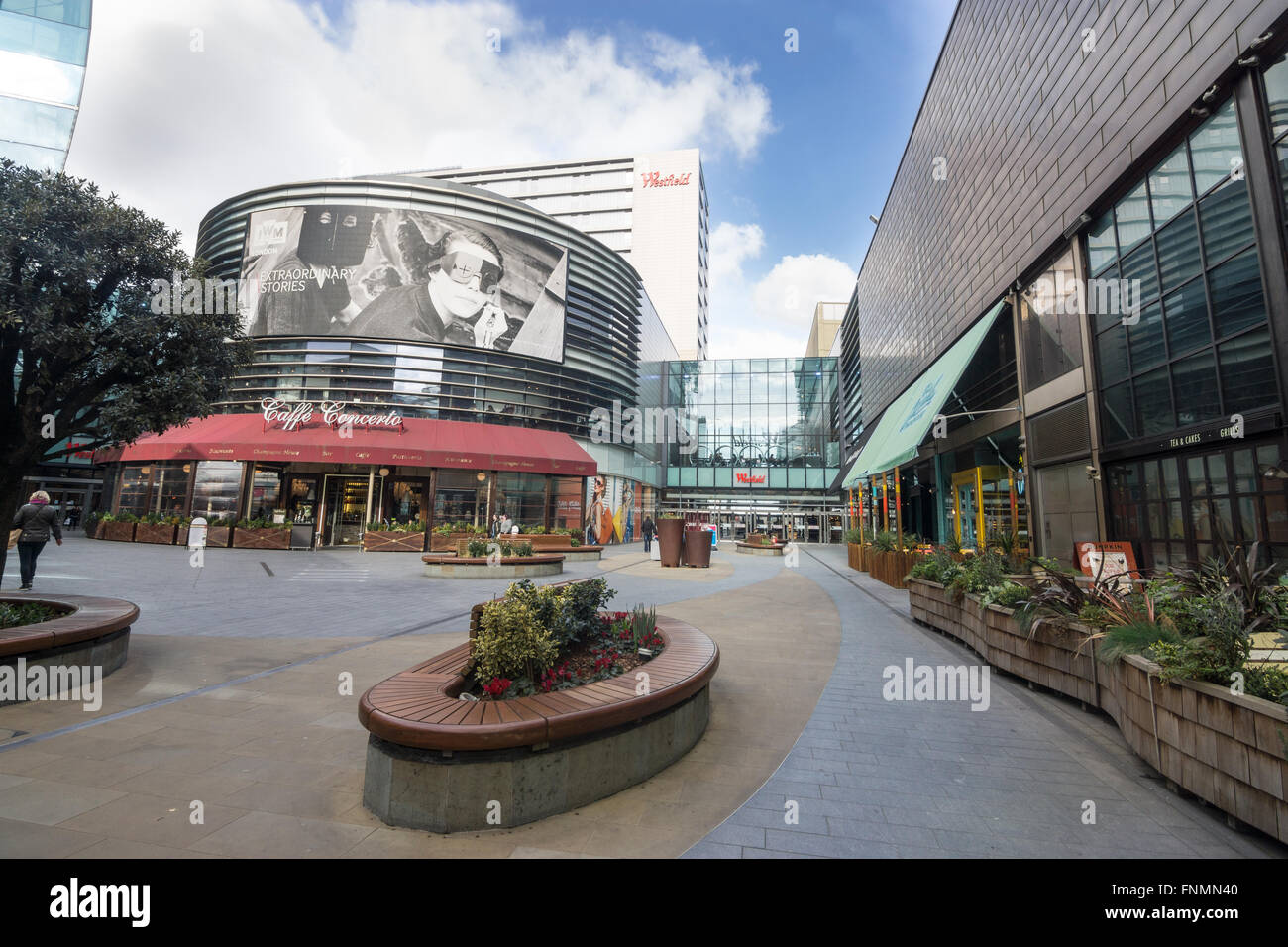 westfield shopping centre, stratford - Stock Image