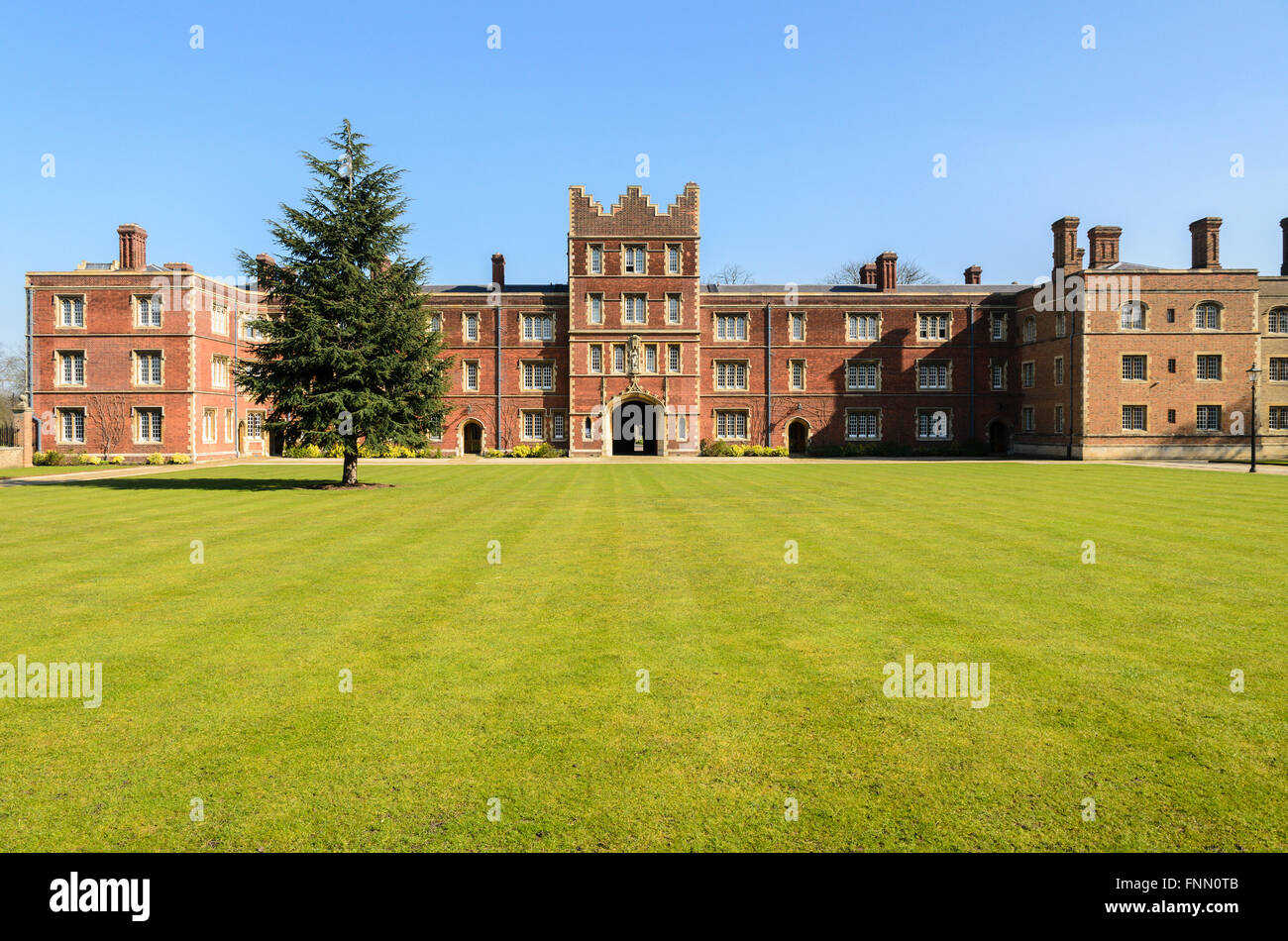 Jesus College, University of Cambridge, Cambridge, England, UK. Stock Photo