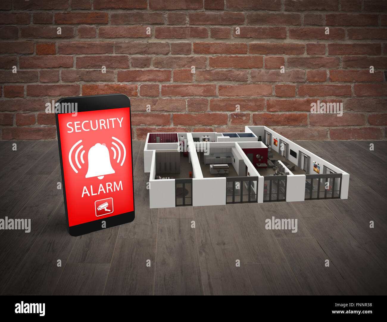 Video surveillance - Stock Image