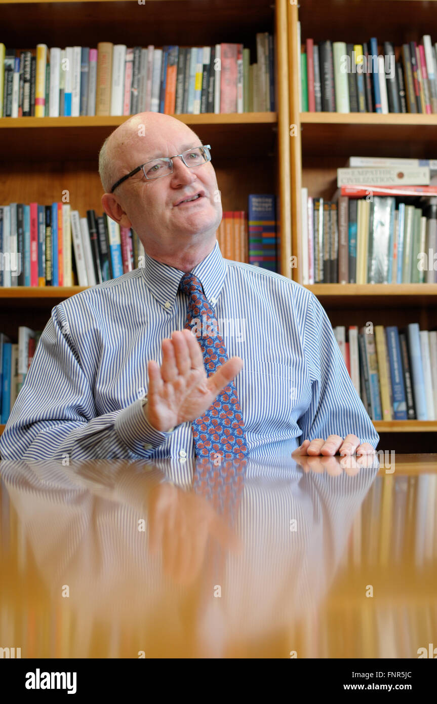 Professor Nigel Thrift Vice Chancellor, WARWICK UNIVERSITY - Stock Image