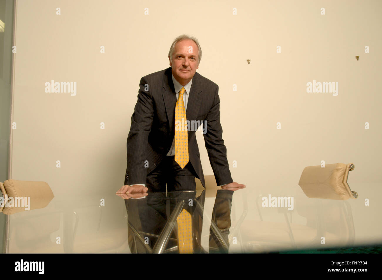 Paulus Gerardus Josephus Maria Polman CEO of Unilever - Stock Image