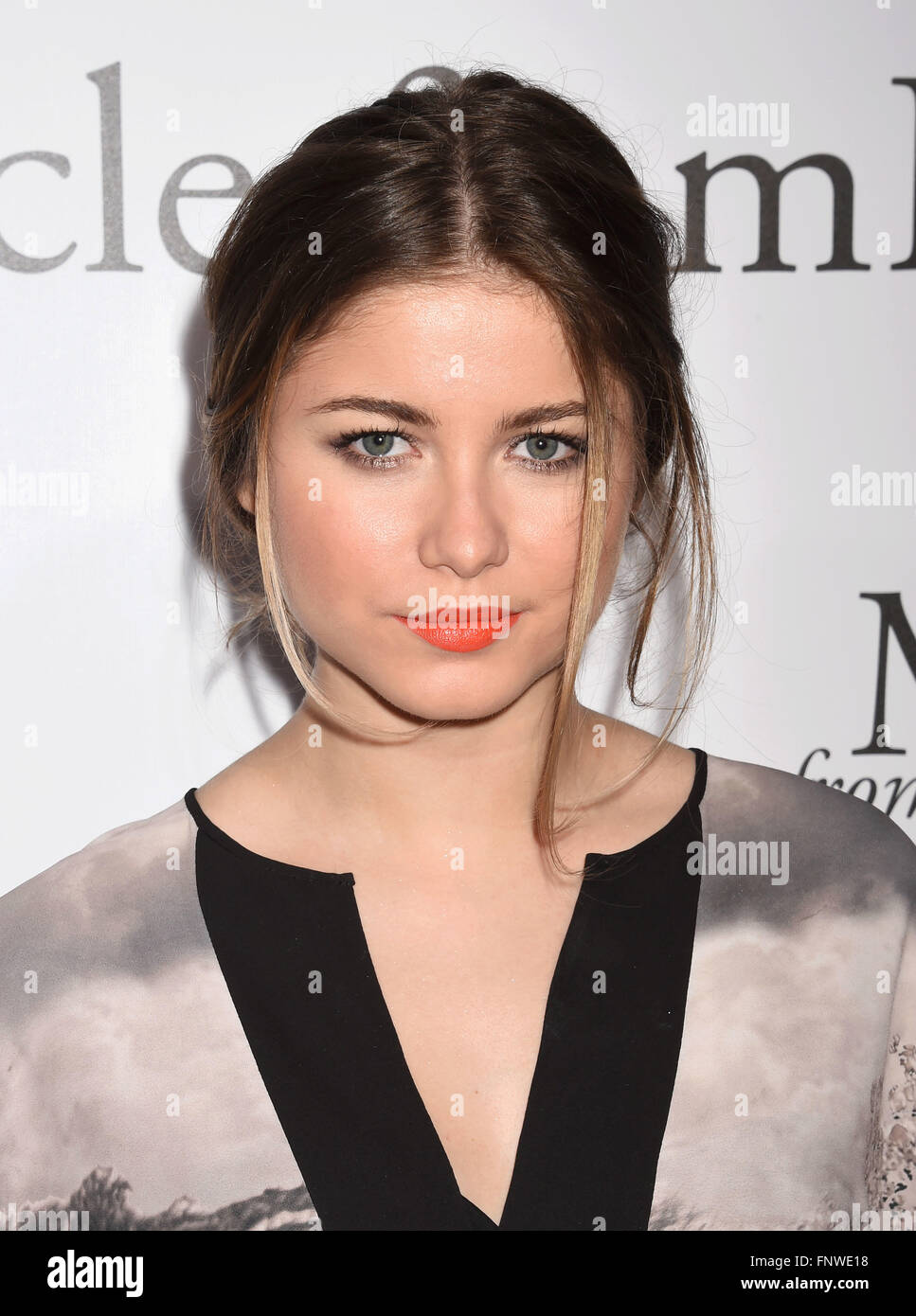 SOFIA REYES  Mexican singer/song writer in March 2016. Photo Jeffrey Mayer - Stock Image