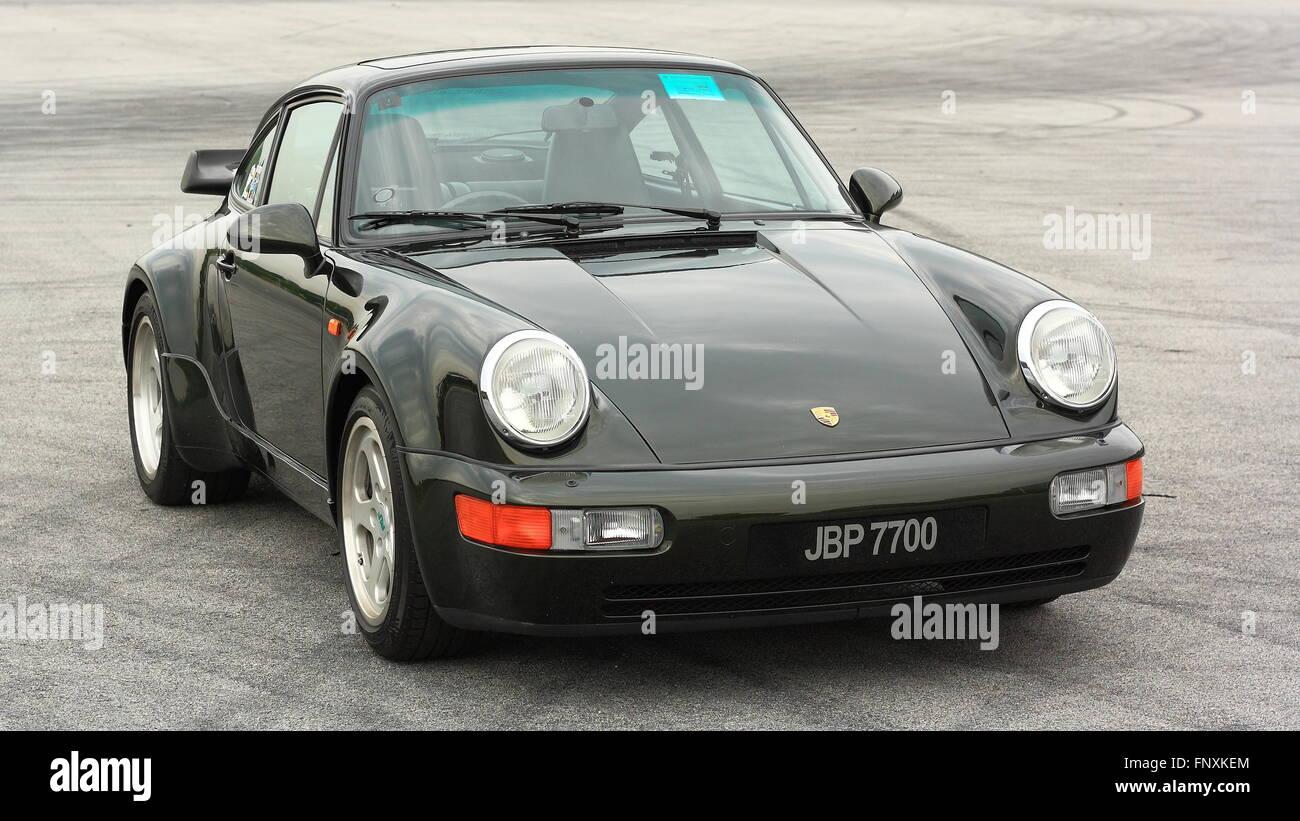 Porsche 911 Turbo Stock Photo