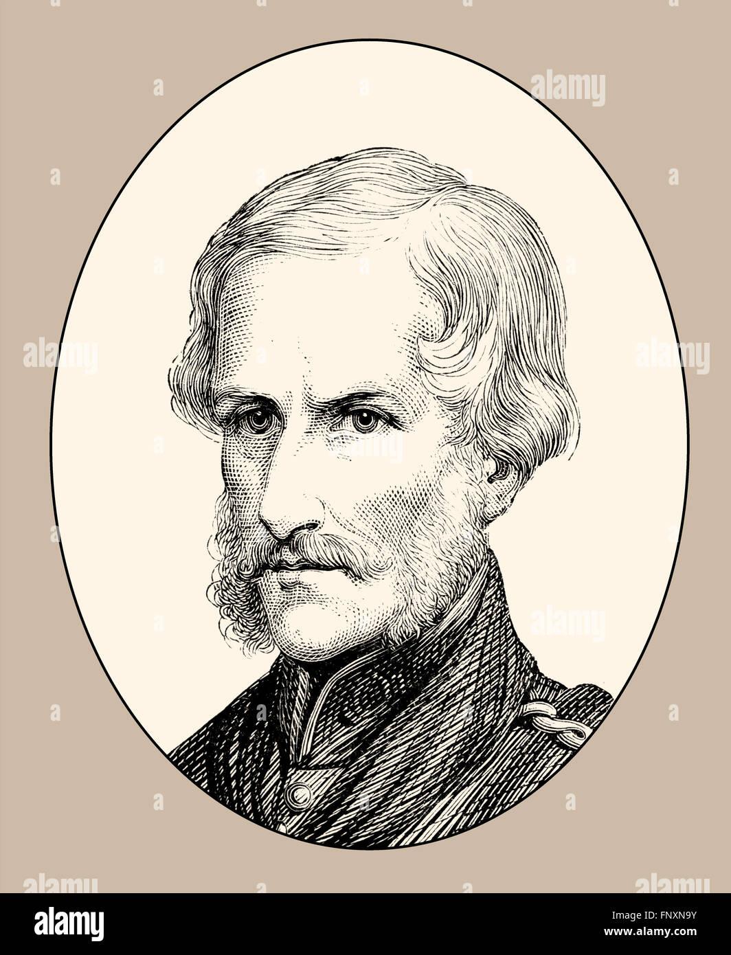 Major General Sir Henry Havelock, 1795-1857, a British general Stock Photo