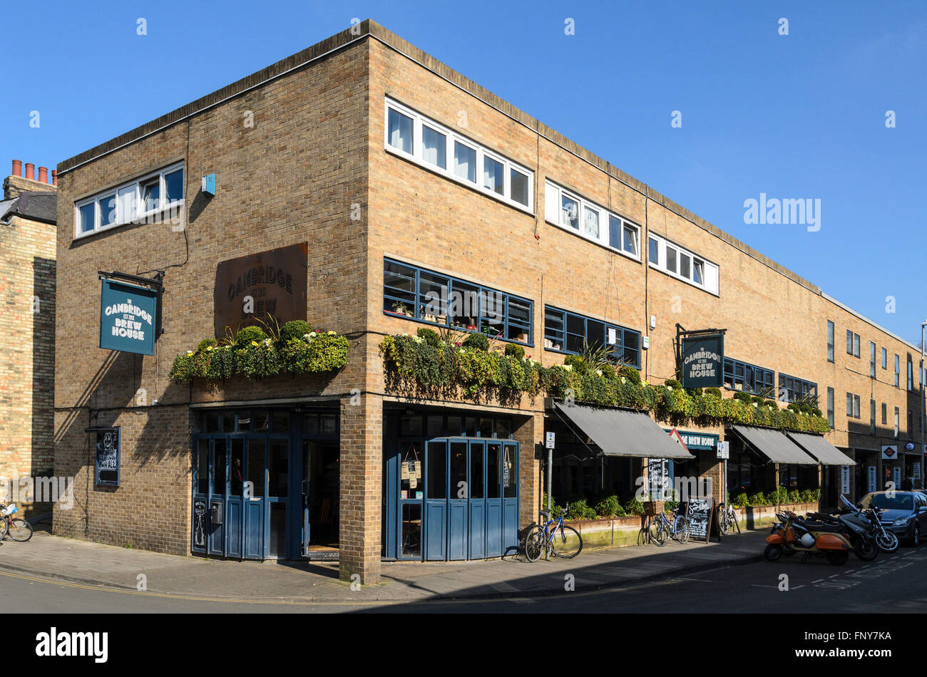 The Cambridge Brew House, Cambridge, England, UK. - Stock Image