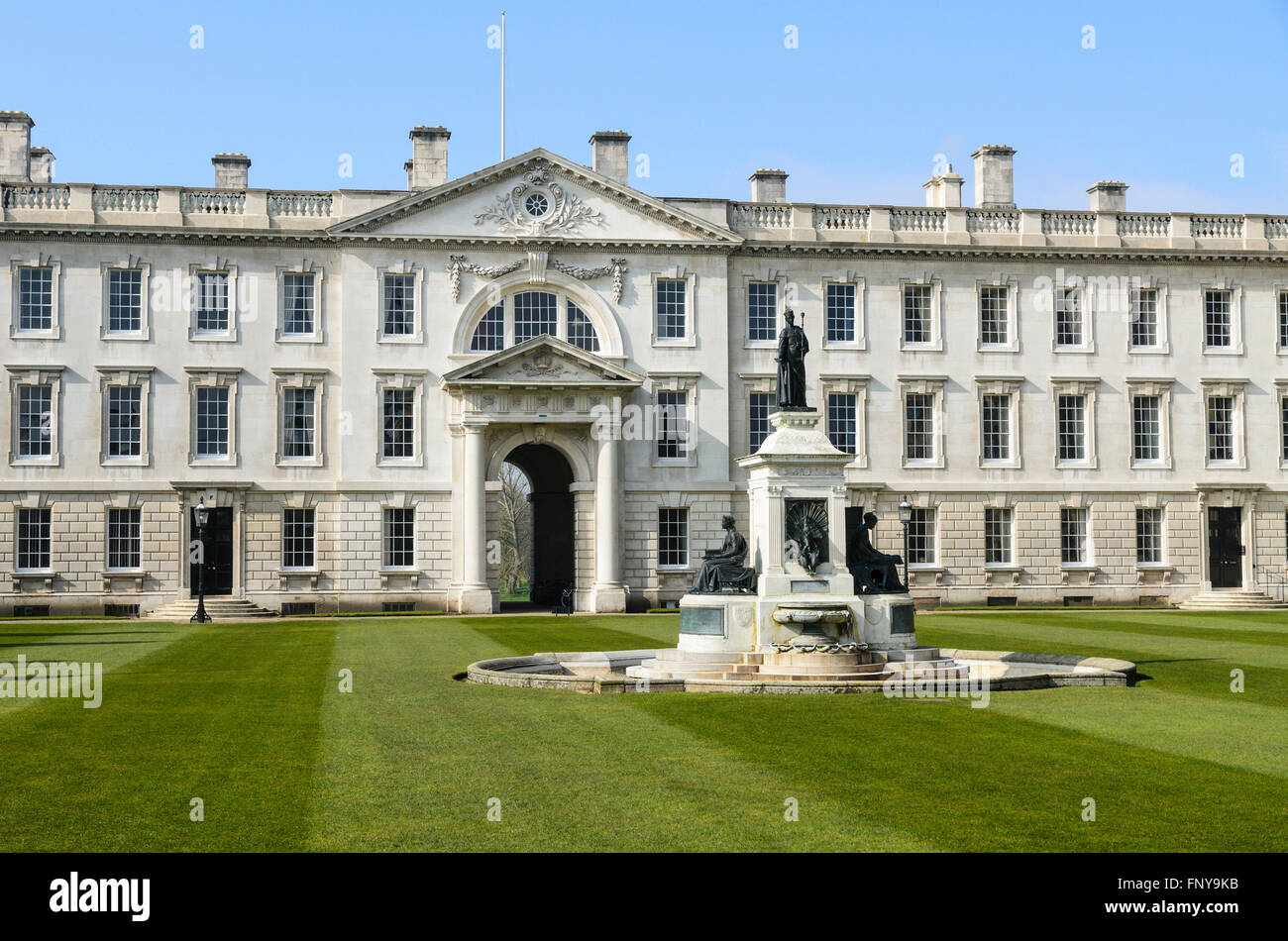 Kings College, University of Cambridge, Cambridge, England, UK. Stock Photo