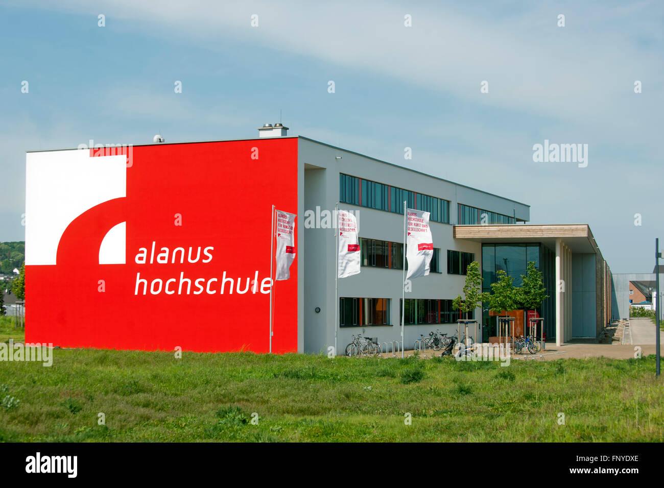 Deutschland,NRW, Rhein-Sieg-Kreis, Alfter, am westlichen Stadtrand von Bonn. Alanus-Hochschule für Kunst und - Stock Image