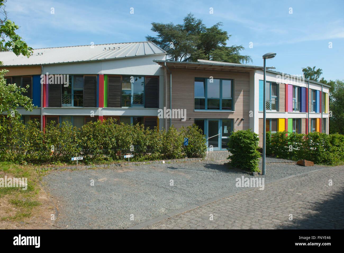 Deutschland,NRW,  Rhein-Sieg-Kreis, Alfter, am westlichen Stadtrand von Bonn. Alanus-Hochschule f¸r Kunst und - Stock Image