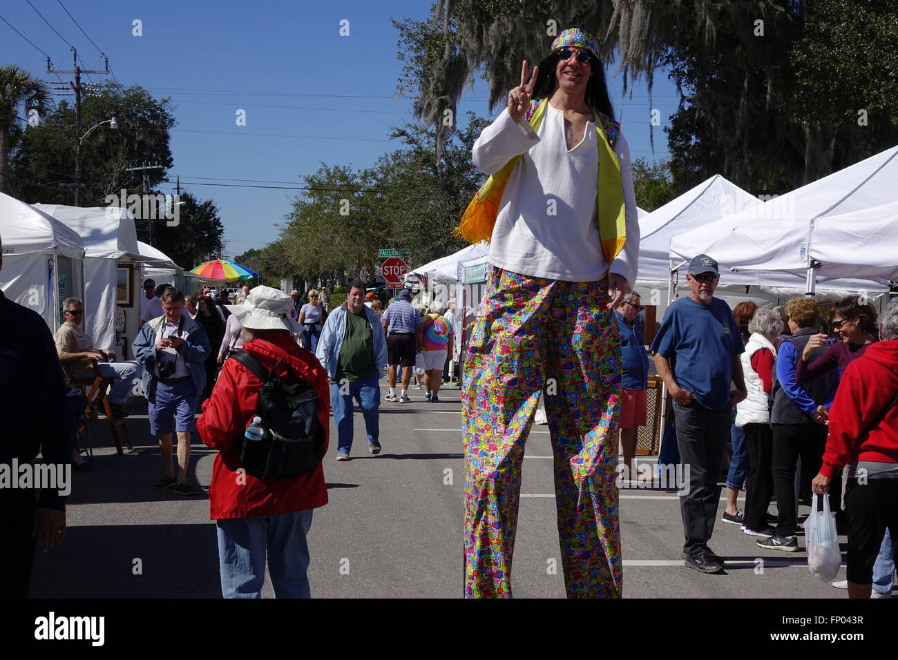 Tall Man On Stilts County High Resolution Stock Photography And Images Alamy