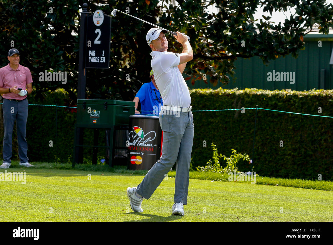 16th March, 2016. Martin Laird, Scottish Golfer, playing at the Arnold Palmer Invitational at Bay Hill Golf Club, Orlando, Florida Credit: Findlay/Alamy ...