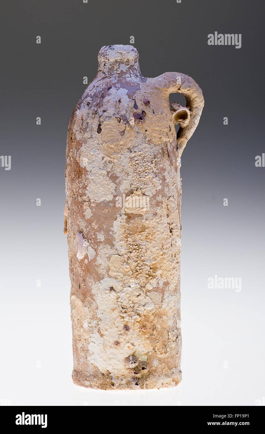 Apollinaris Stoneware Bottle - Stock Image