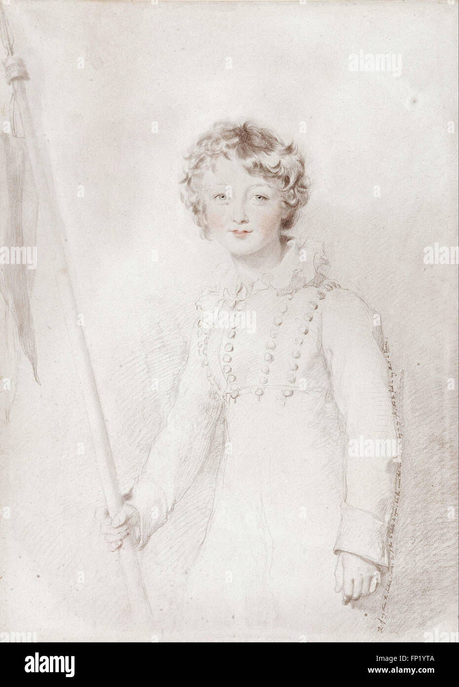 Thomas Lawrence - The son of Countess Meerveldt - Stock Image