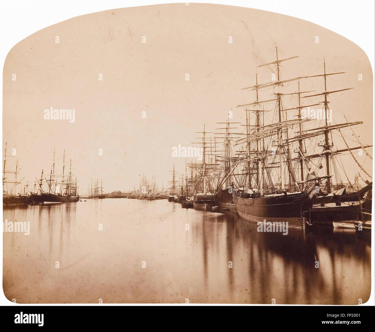 George Freeman - Port Adelaide, downstream - Stock Image