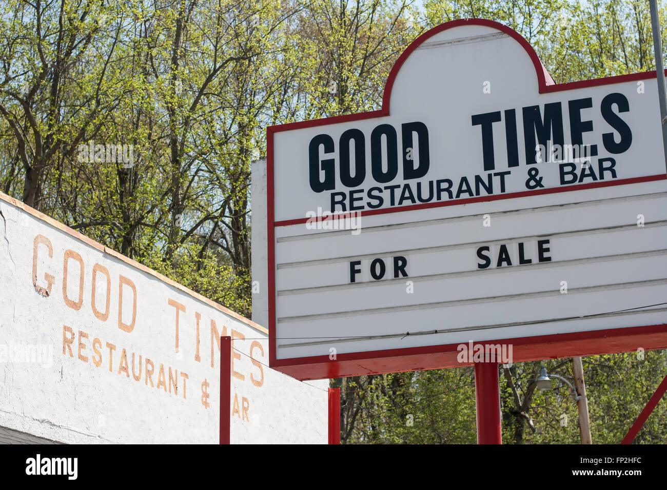 Good Times For Sale - Stock Image