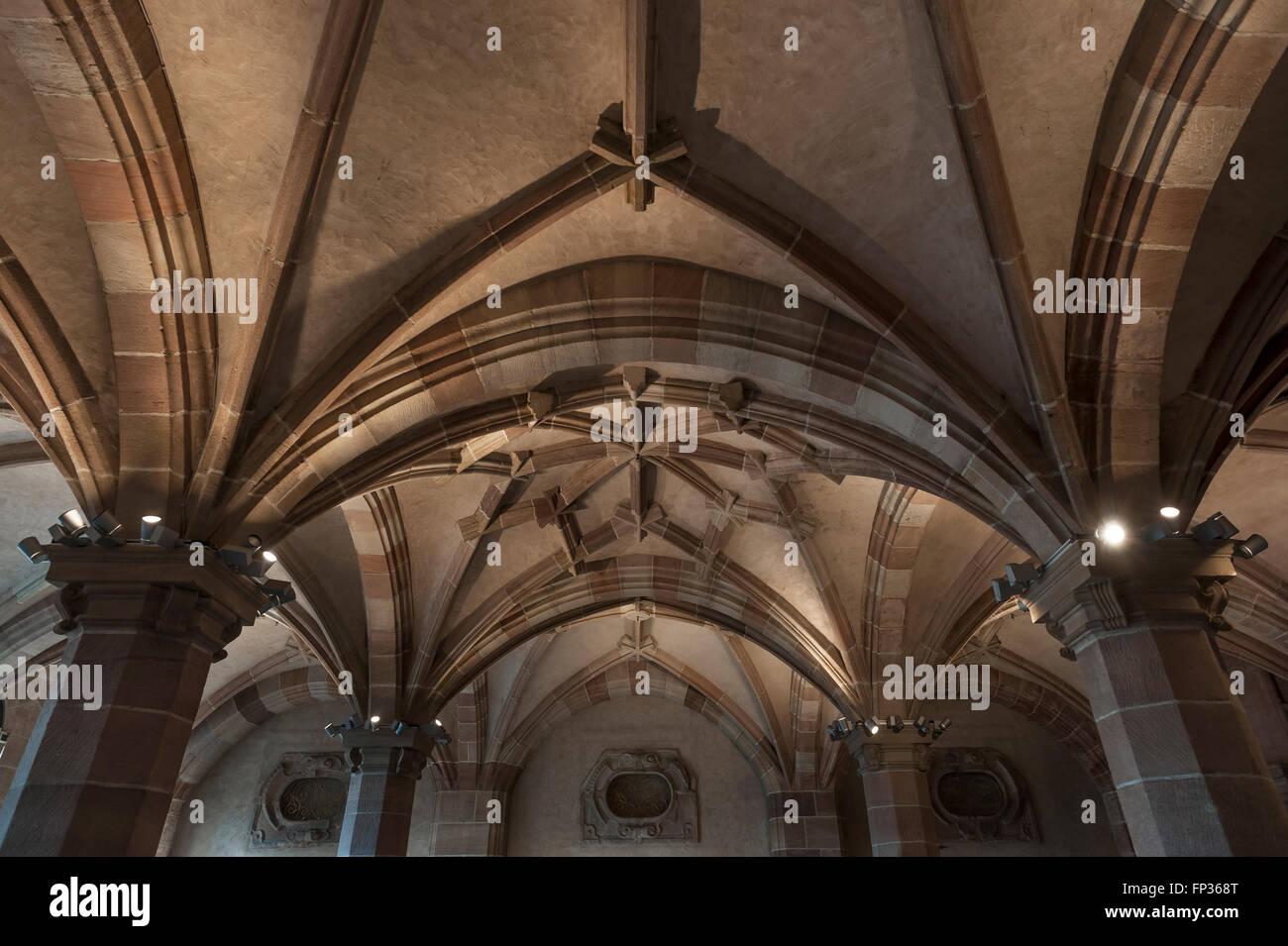 Renaissance Vaults In The Atrium Of The Pellerhaus Built In 1605