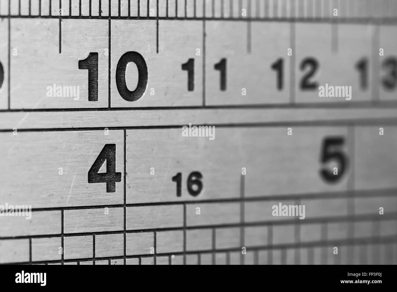 Ruler for Measuring - Stock Image