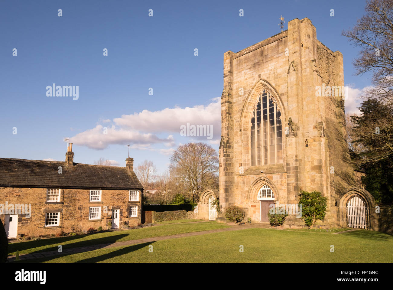 Beauchief Abbey, Sheffield - Stock Image