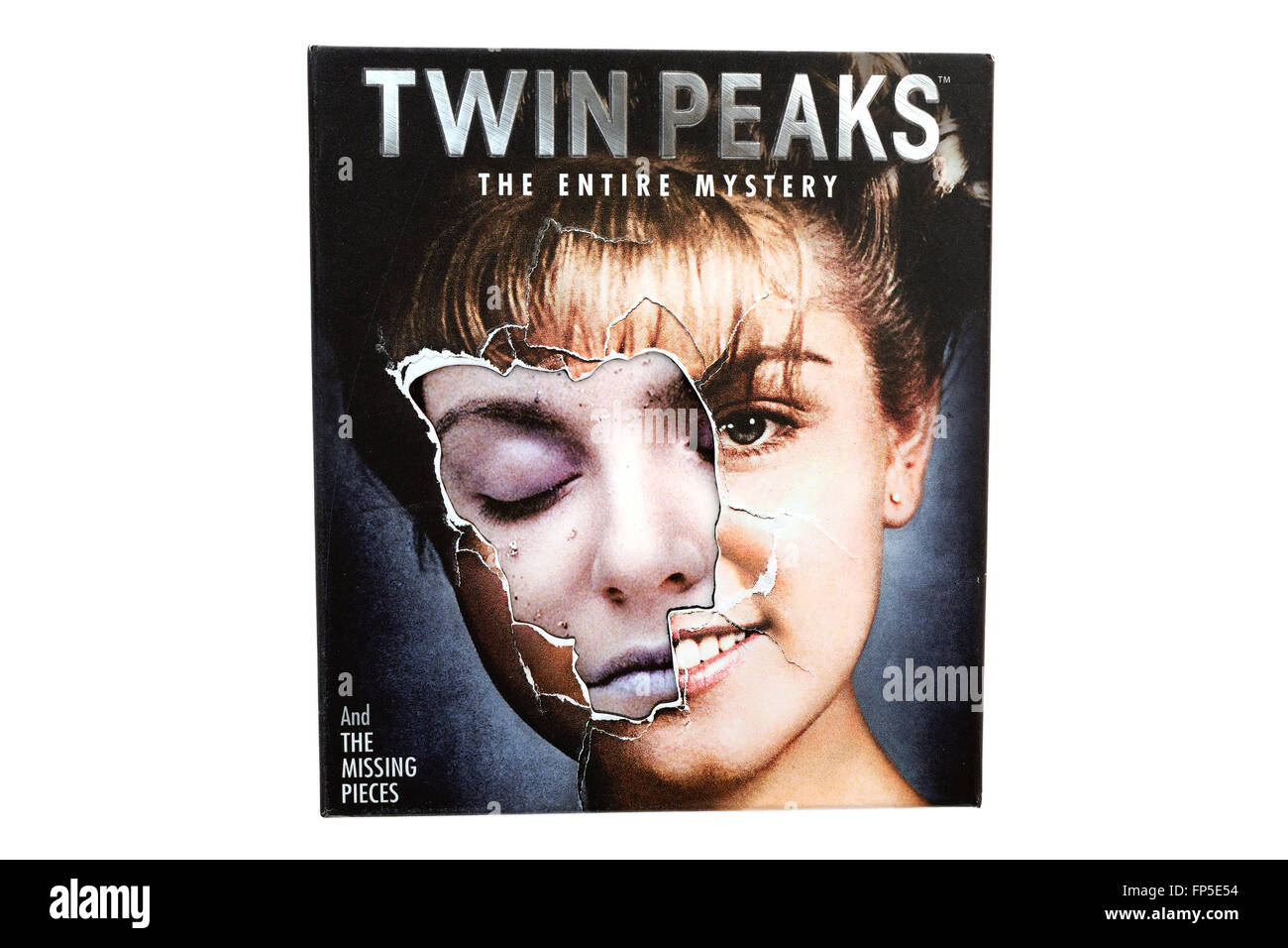 BARCELONA, SPAIN - DEC 27, 2014: Twin Peaks, American television serial drama created by Mark Frost and David Lynch. - Stock Image