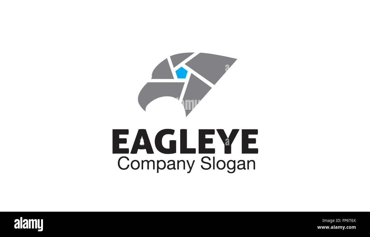 Eagle Eye Design Illustration - Stock Vector