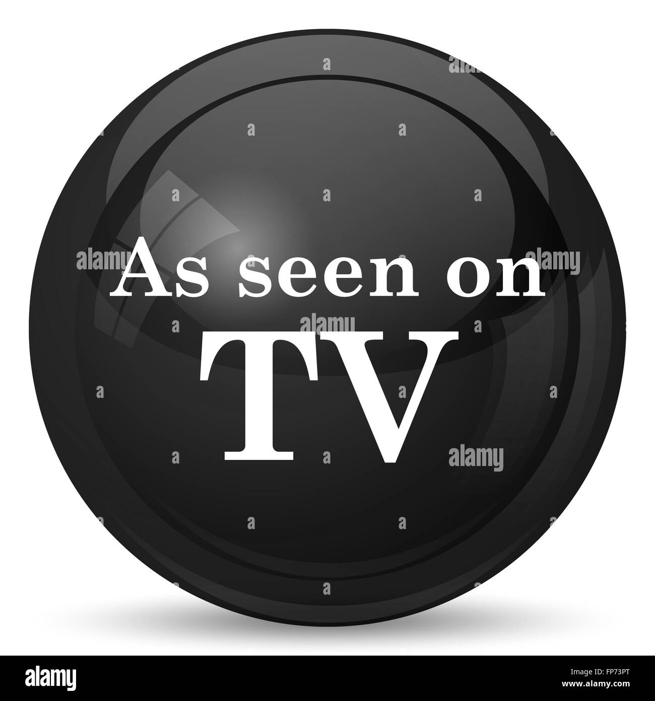 Tv Show Ad Black And White Stock Photos Images Alamy