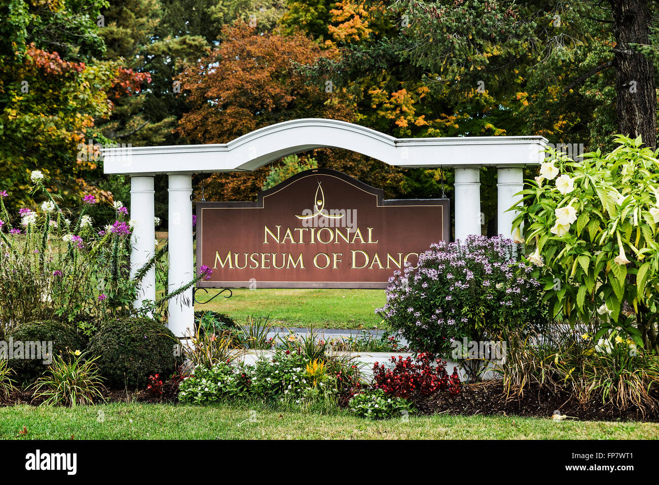 National Museum of Dance, Saratoga Spa State Park, Saratoga Springs, New York, USA - Stock Image