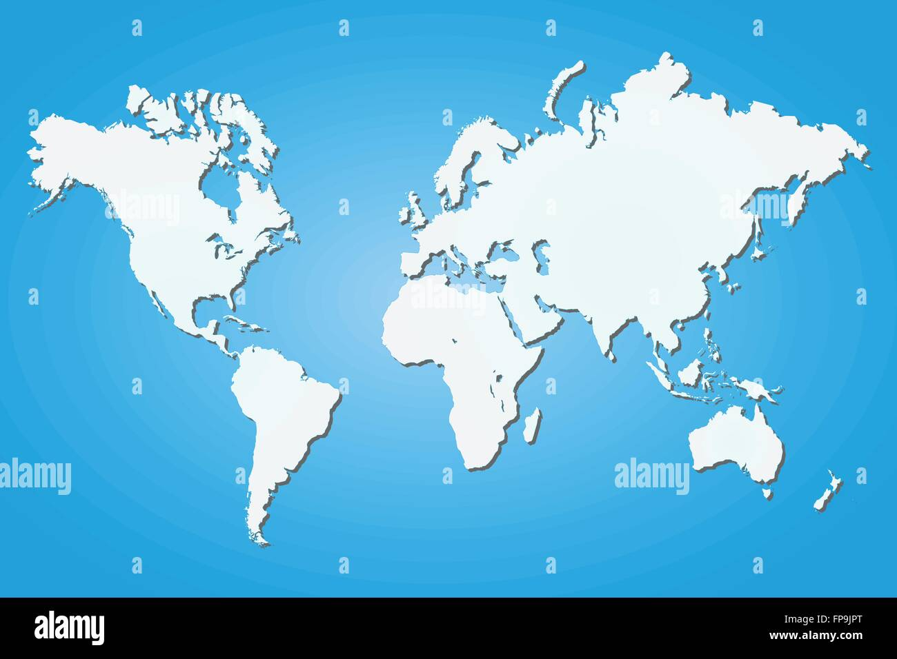 Image of a world map on a colorful blue background stock vector art image of a world map on a colorful blue background gumiabroncs Images