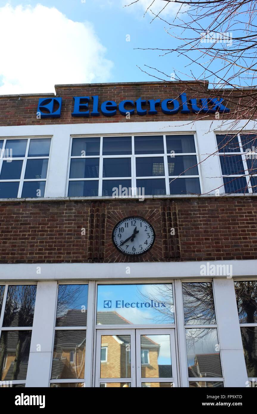 Electrolux Factory In Luton Bedfordshire Stock Photo 99792909 Alamy