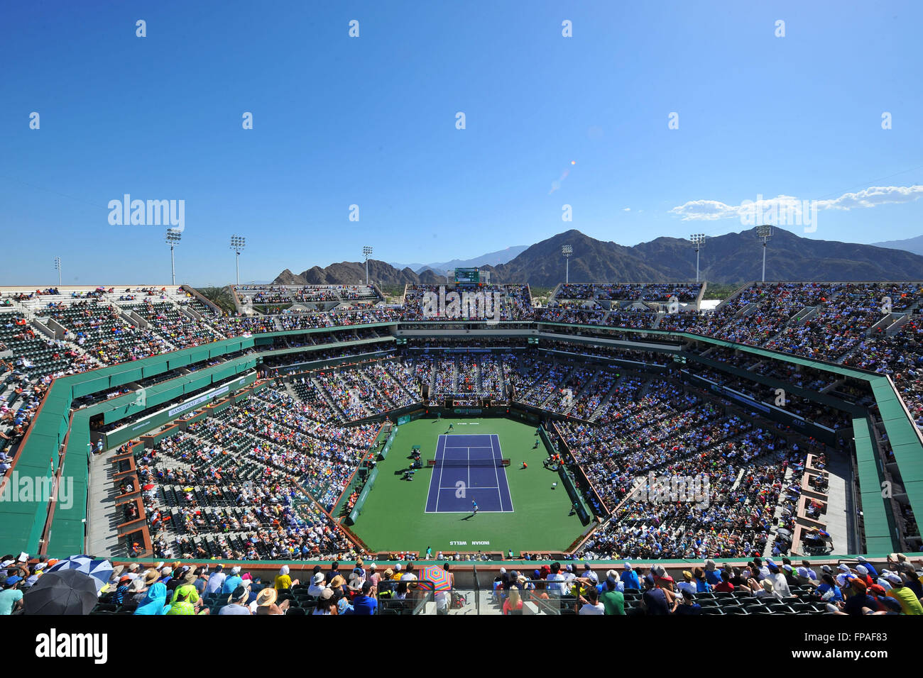 Indian Wells, California, USA. 17th Mar, 2016. BNP Paribas Open Tennis