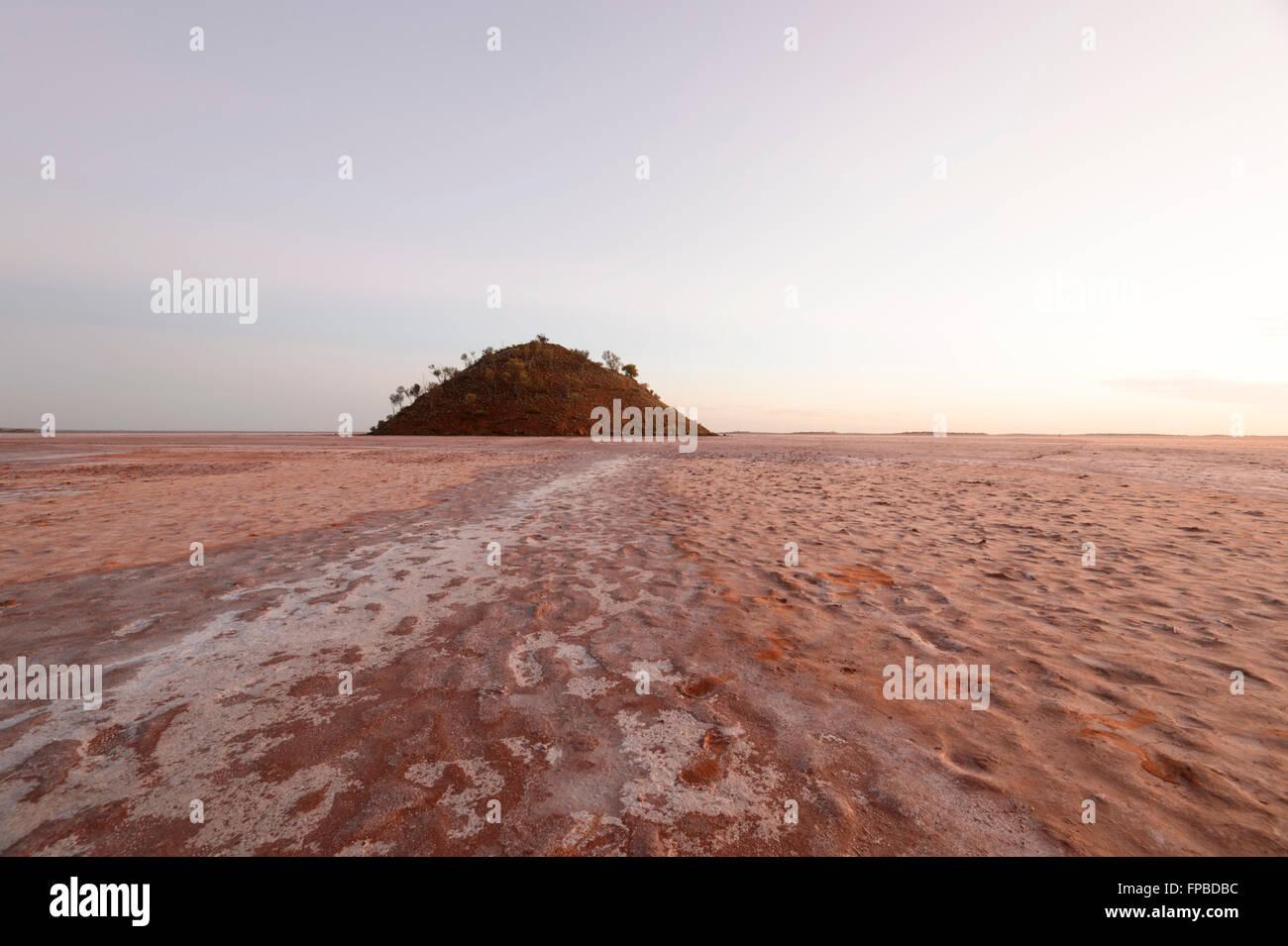 Lake Ballard, Western Australia, WA, Australia - Stock Image