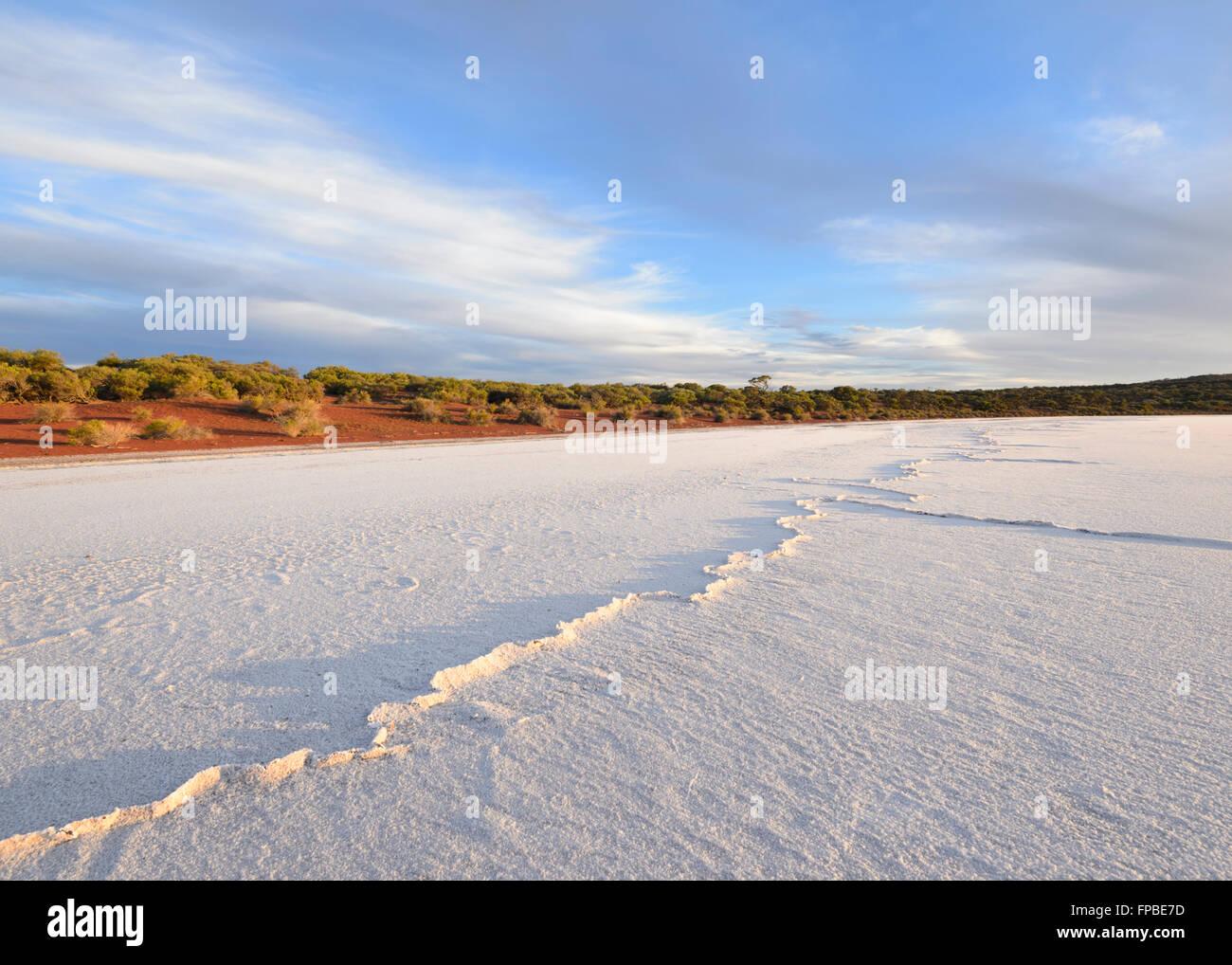 Lake Gairdner, South Australia, SA, Australia Stock Photo