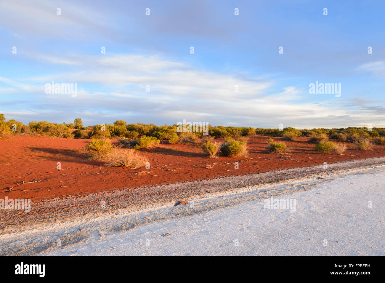 Lake Gairdner, South Australia, SA, Australia - Stock Image