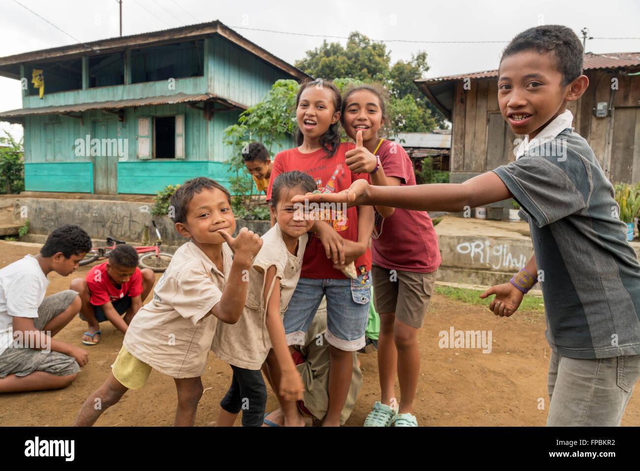 Children Flores Indonesia Stock Photos Children Flores Indonesia
