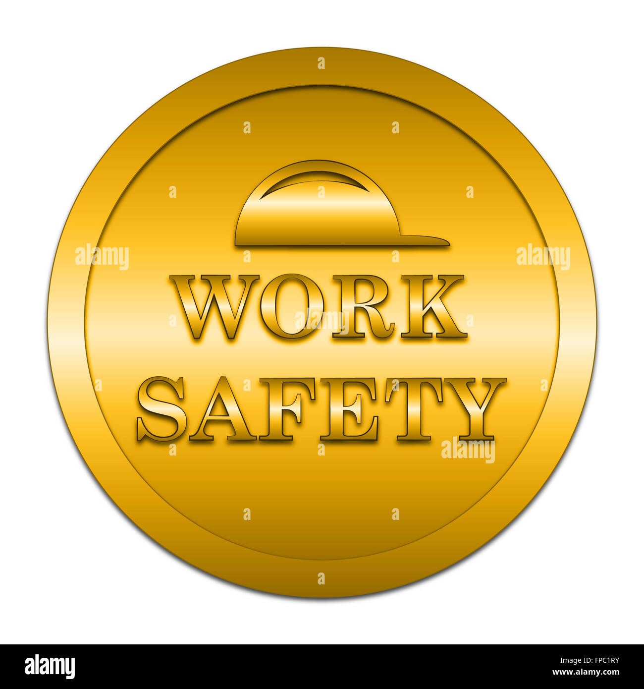 Safety First Icon Internet Button Stock Photos Safety First Icon