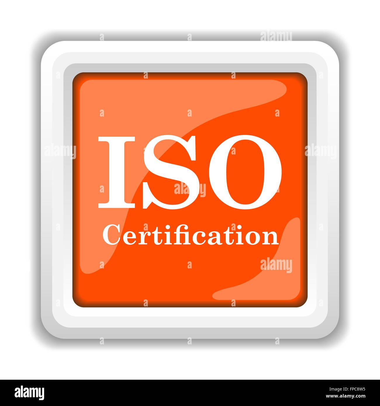 Iso Certification Icon Stock Photo 99844673 Alamy
