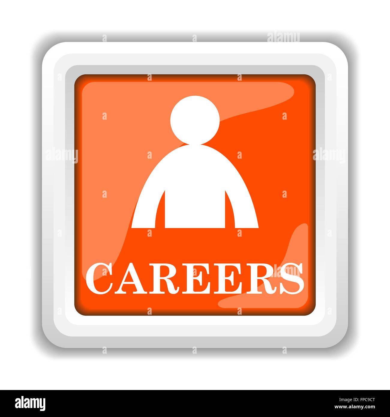 Careers icon - Stock Image