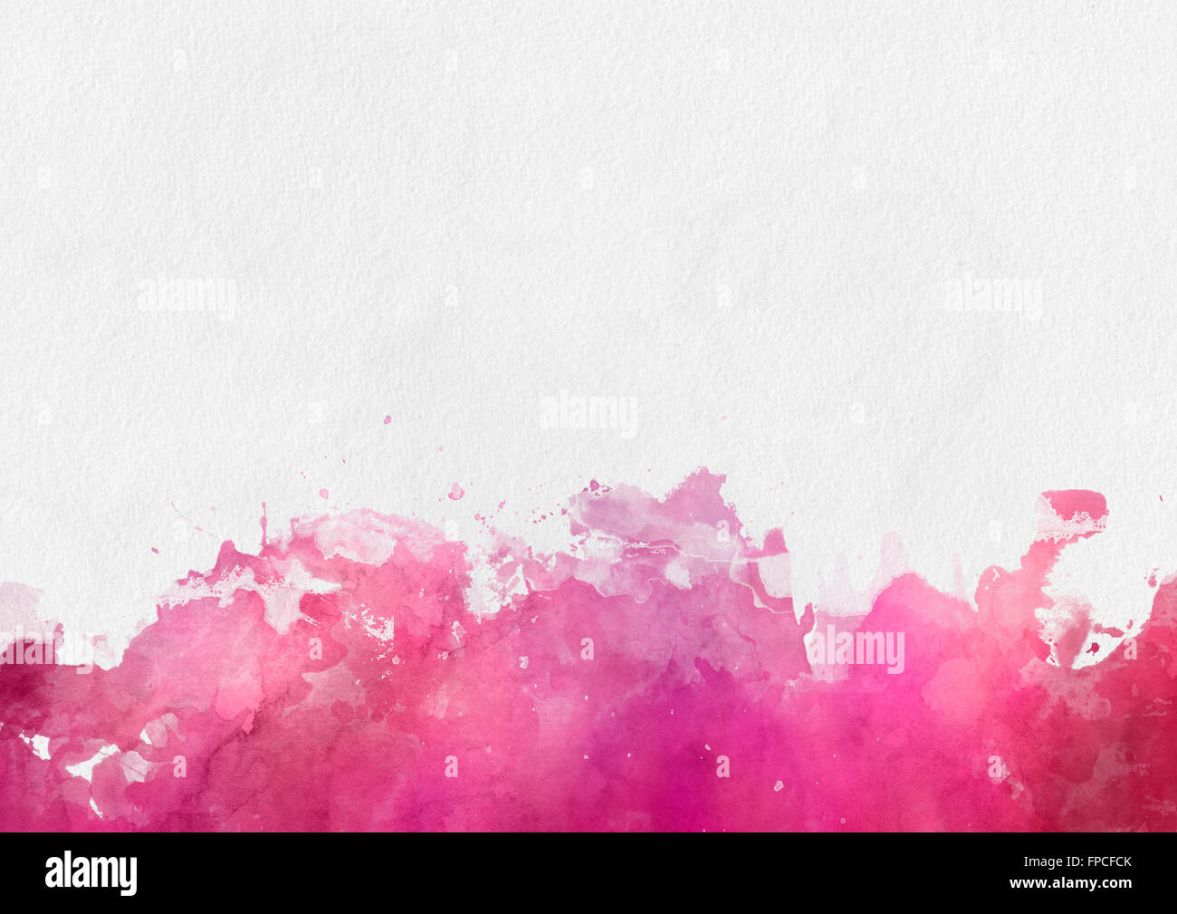 colorful red watercolor paint template with a paint splash effect
