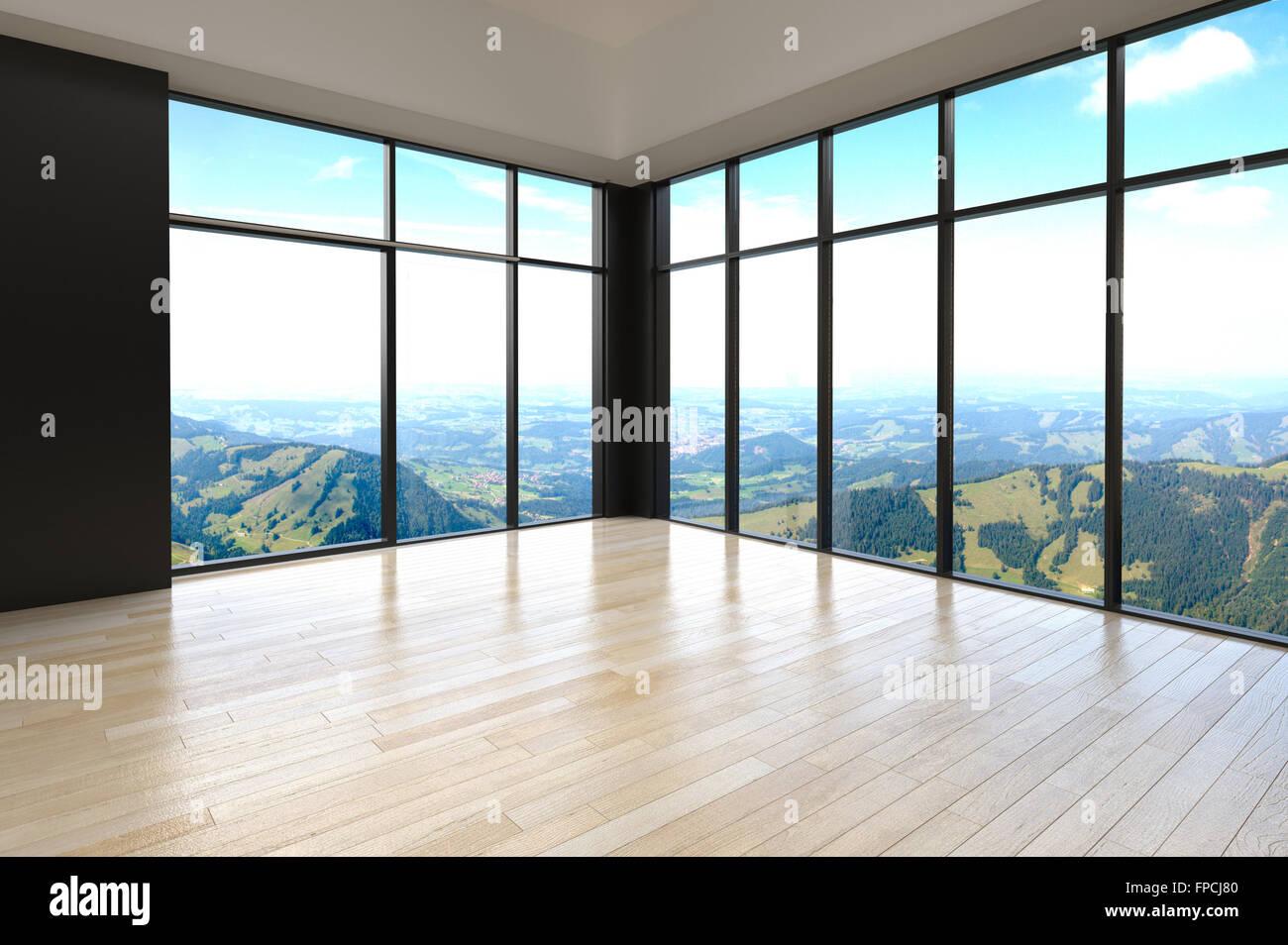 Empty Living Room Corner | Conceptstructuresllc.com