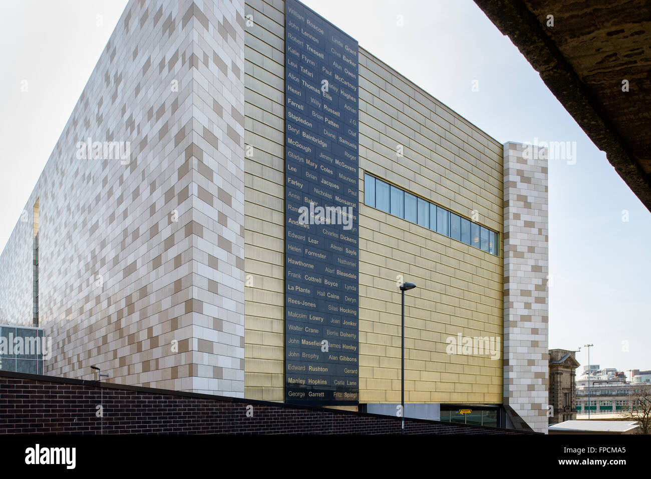 An Exterior View Of The New And Modern Building That Is Home To The Stock Photo Alamy