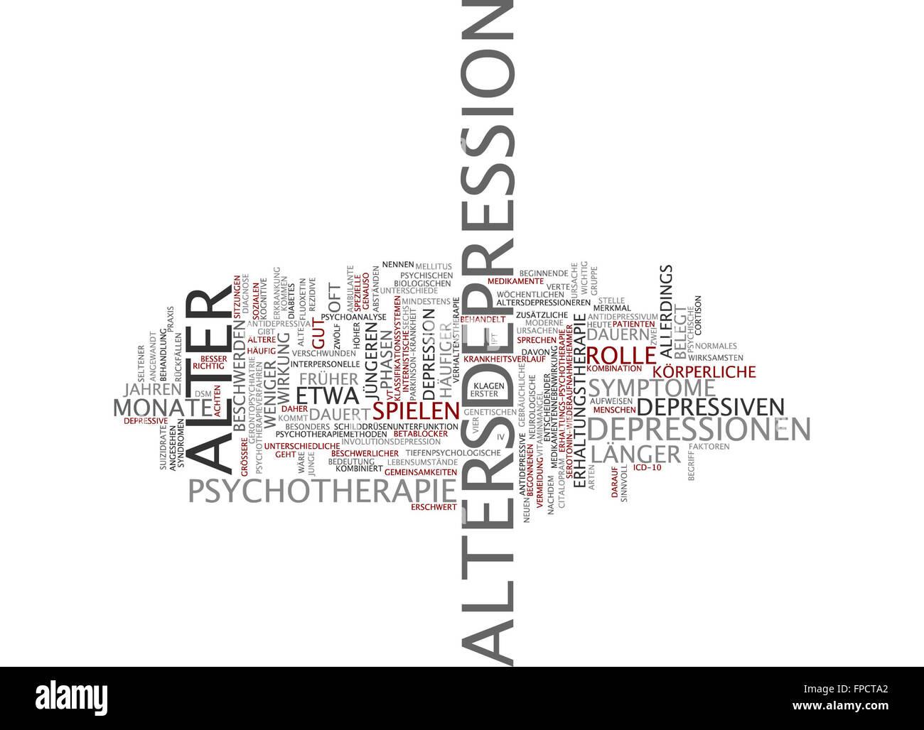 depression arten