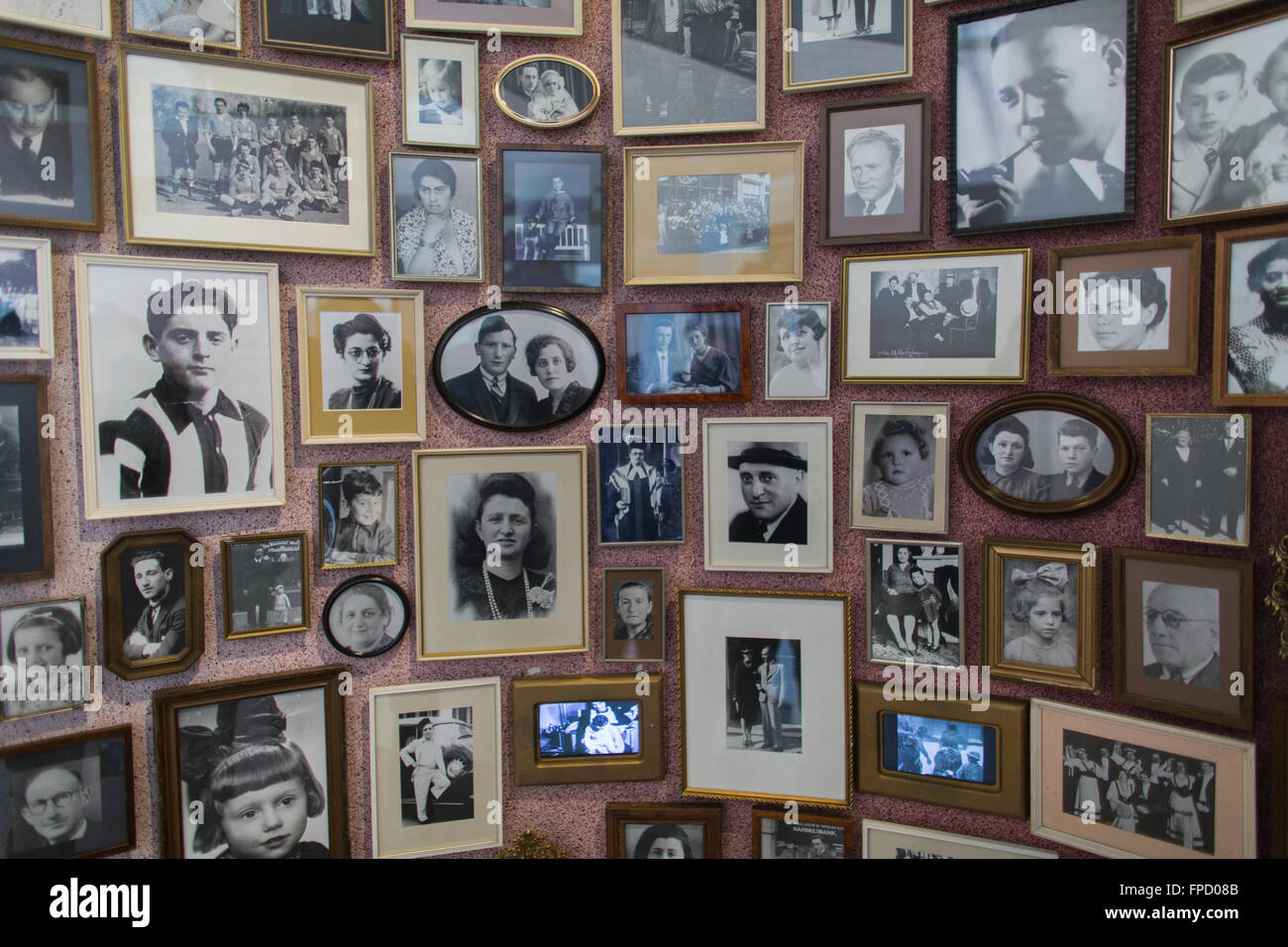 Memorial center Westerbork in Holland. More than one hundred thousand jews were deported from the Westerbork transit - Stock Image