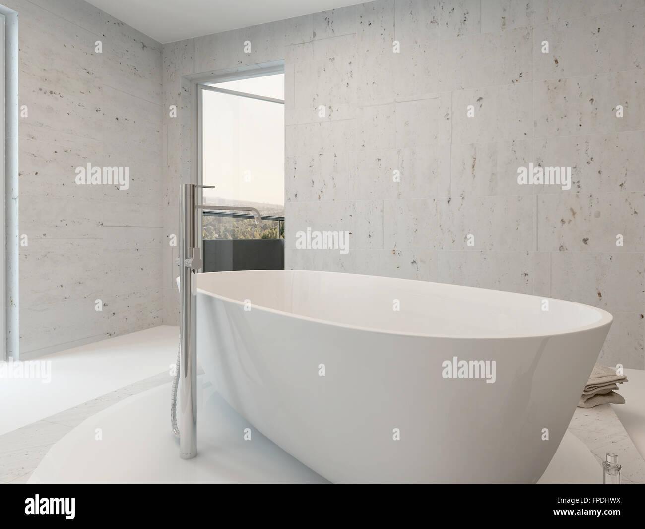 Jacuzzi Whirlpool Bathtub Rendering Lifestyle Stock Photos & Jacuzzi ...
