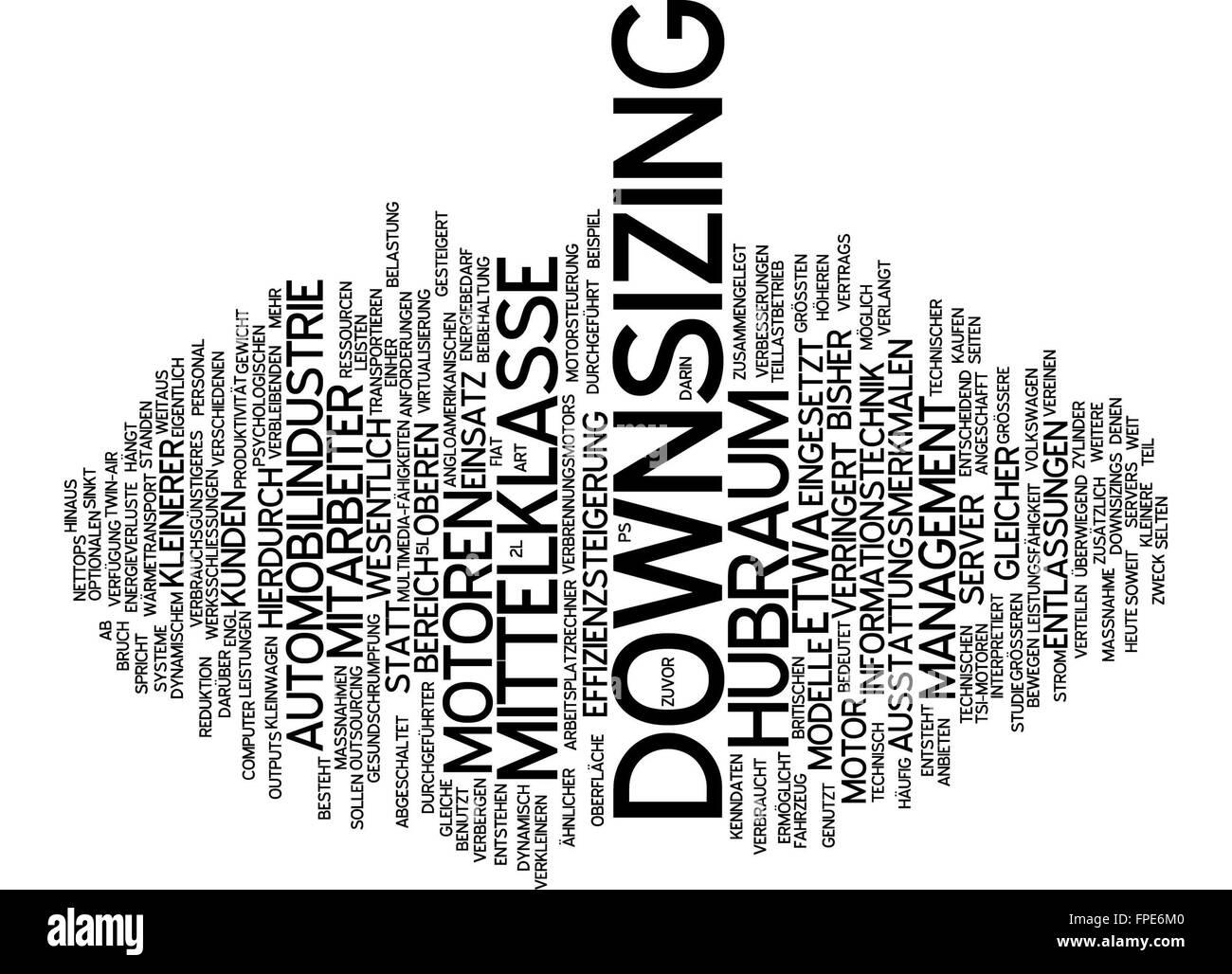downsizing motor motoren automobilindustrie Stock Photo