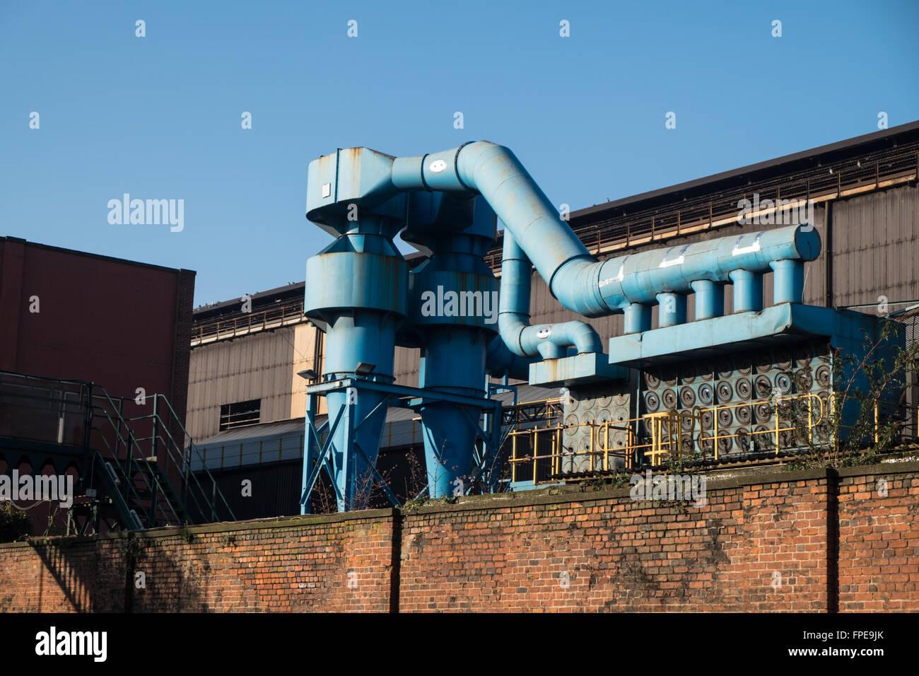 Steelworks in Sheffield - Stock Image