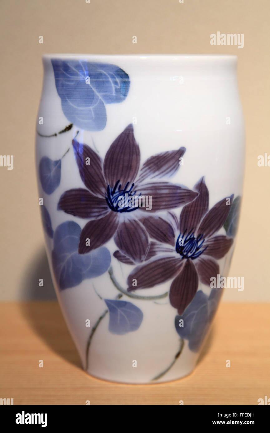 Japan; Seto City, Aichi Prefecture, ceramics, handicraft, - Stock Image