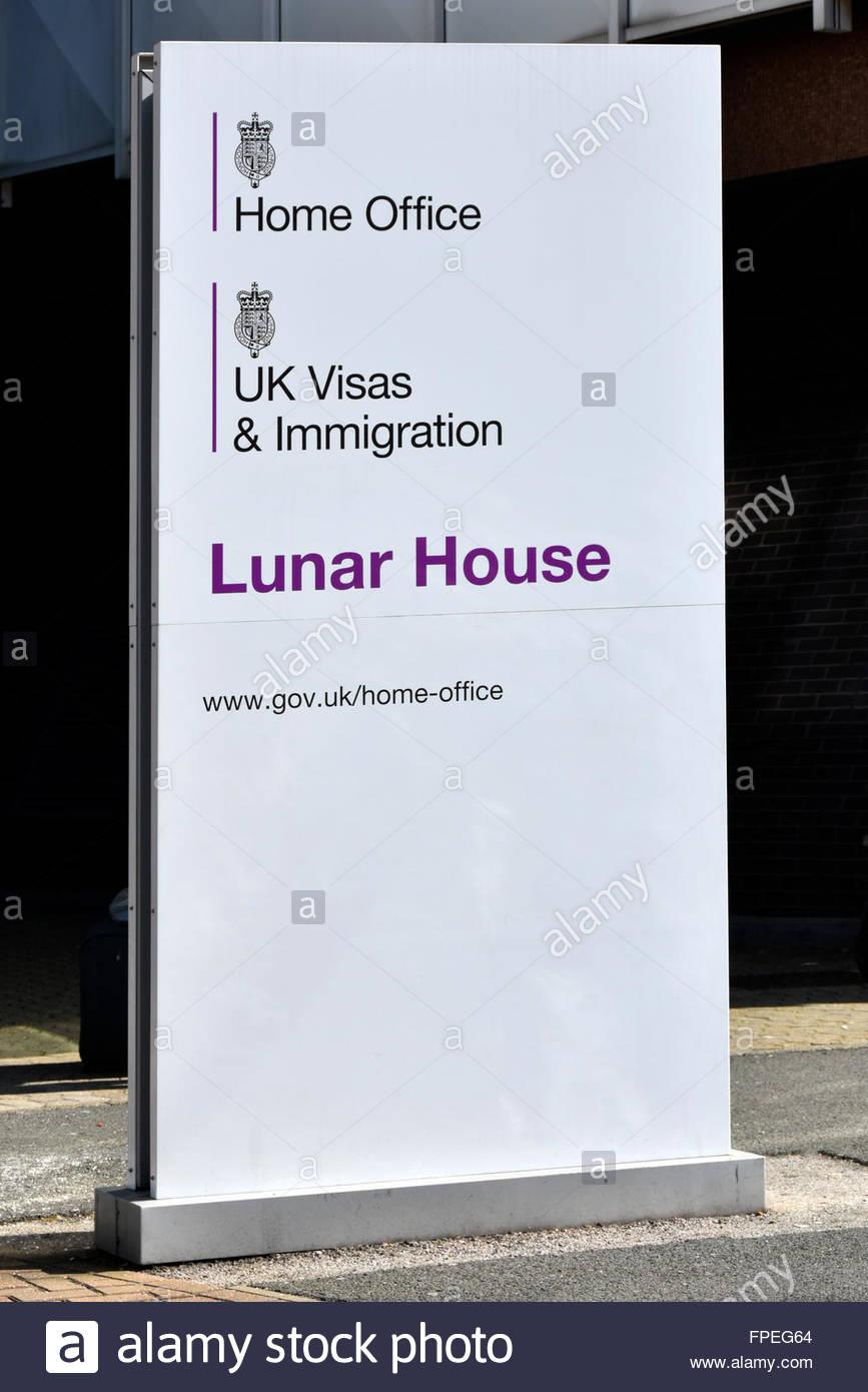 Lunar house croydon stock photos lunar house croydon - Uk visas and immigration home office ...