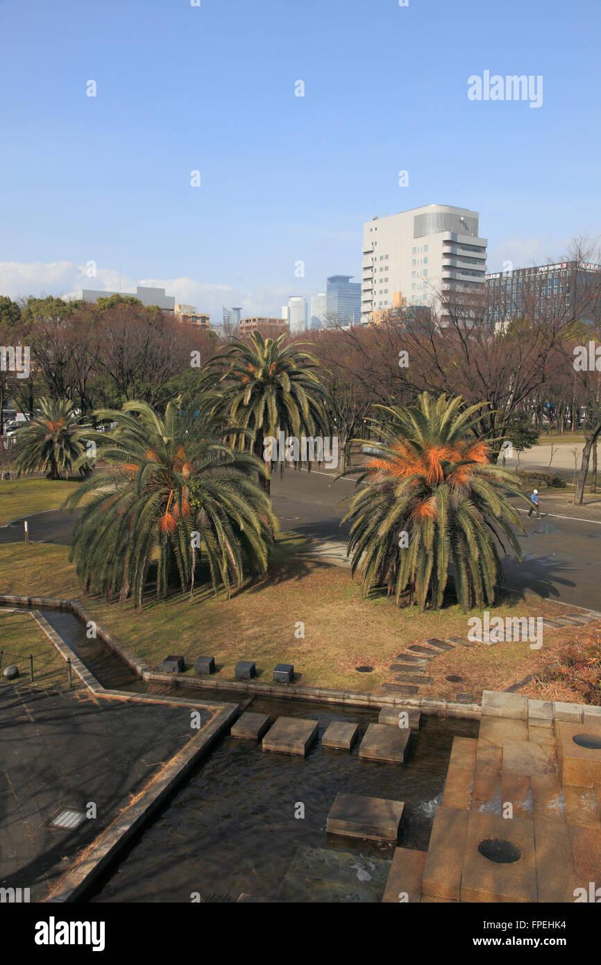 Japan, Nagoya, Shirakawa Park, - Stock Image