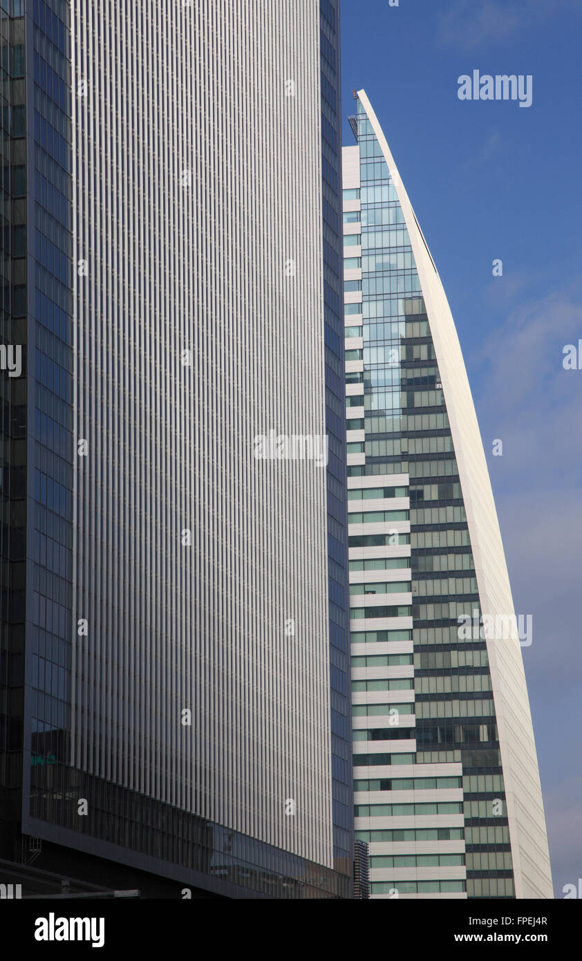 Japan, Nagoya, Lucent Tower, skyscraper, modern architecture, - Stock Image