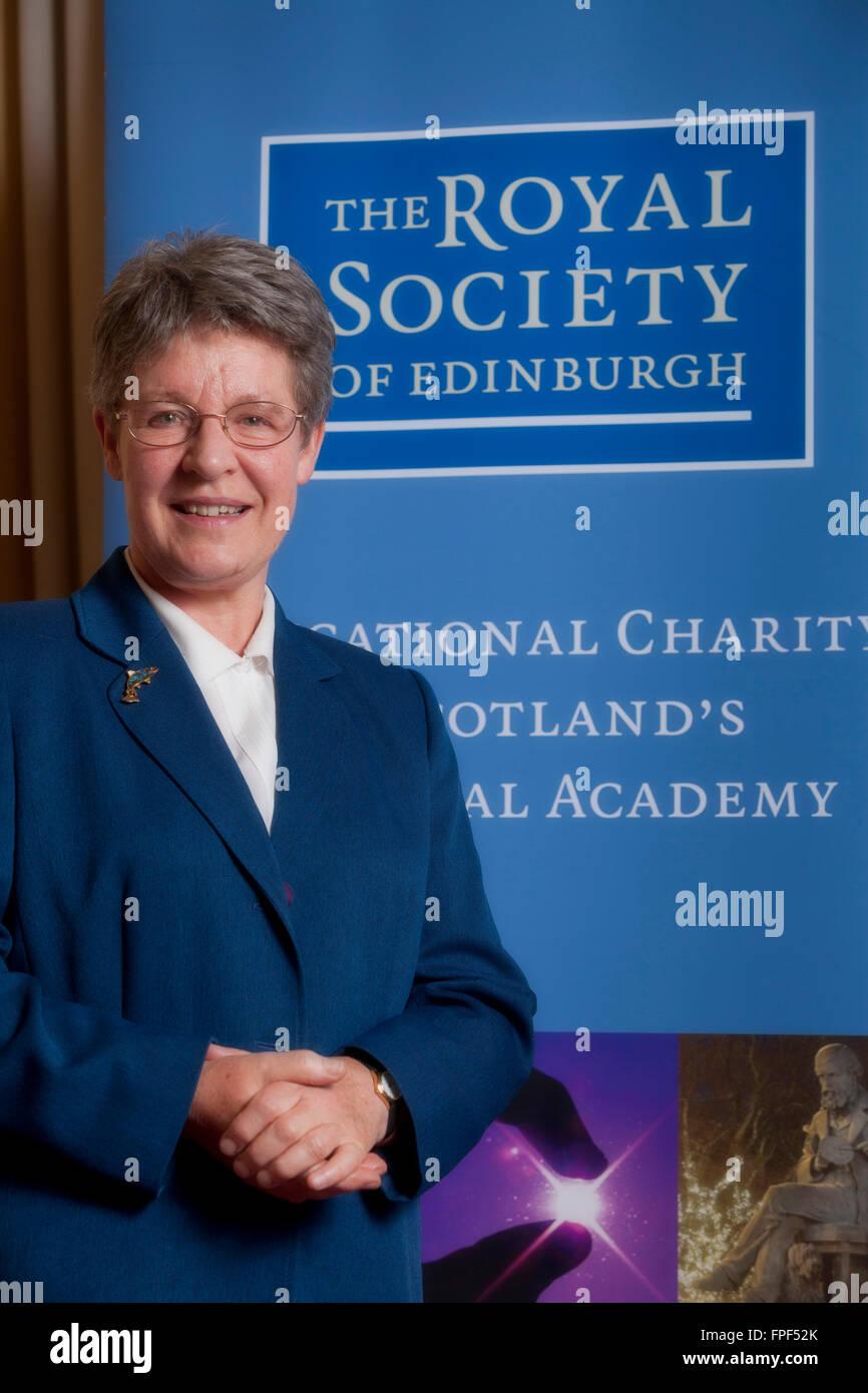 Dame Jocelyn Bell Burnell, President of the Royal Society of Edinburgh Stock Photo