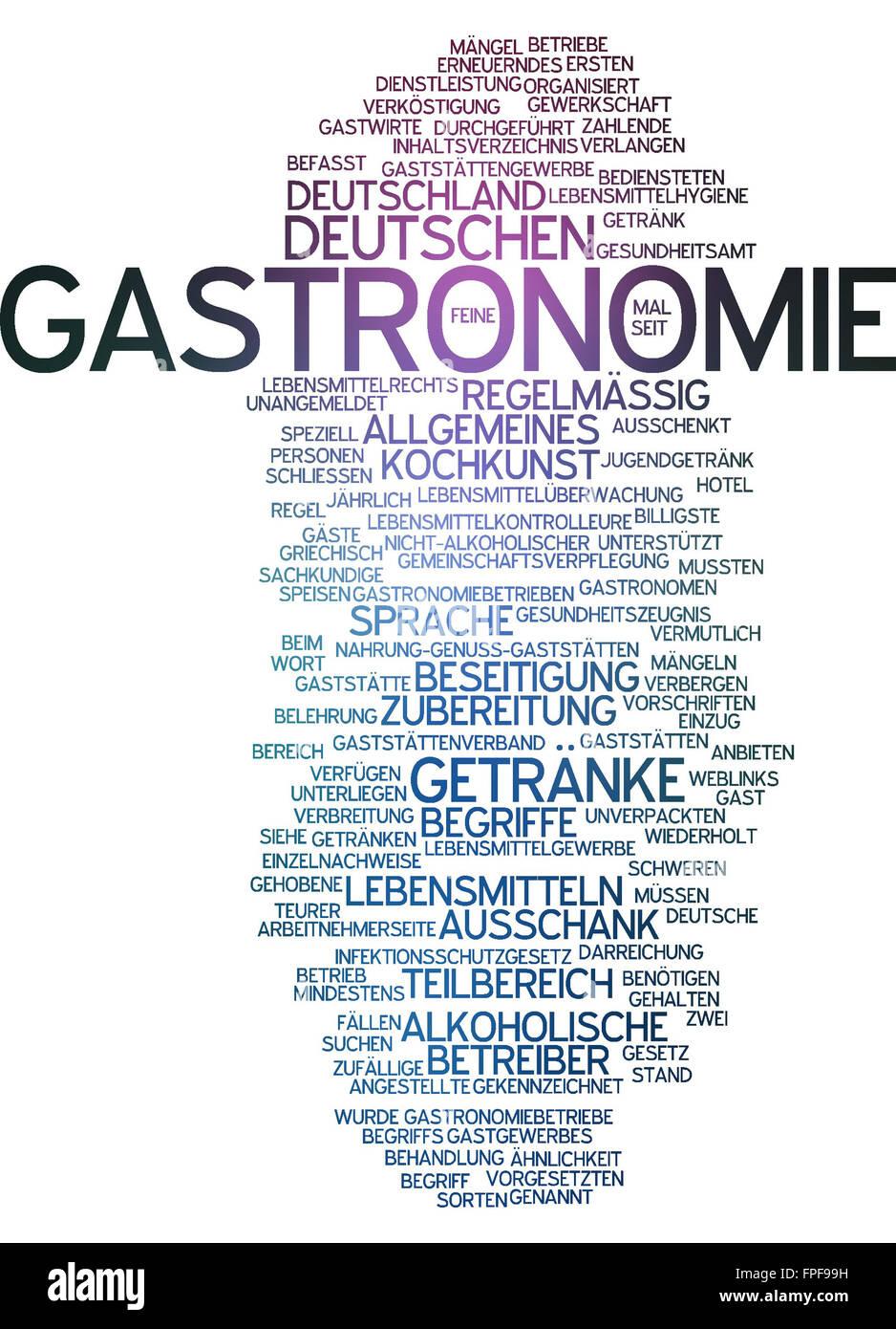 Gastronomie Gastronom Getränk Getränke Speisen Stock Photo: 99910877 ...