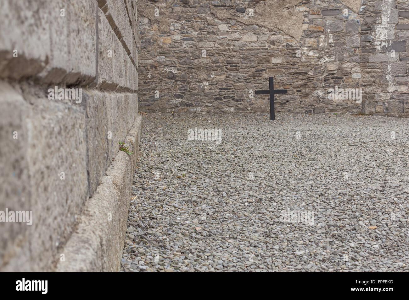 James Connolly execution spot Stock Photo